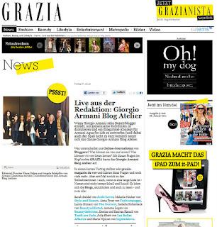 Grazia Blog Atelier