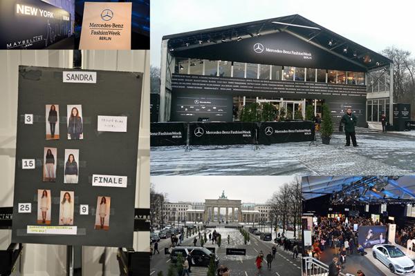 Backstage Fashion Week Berlin