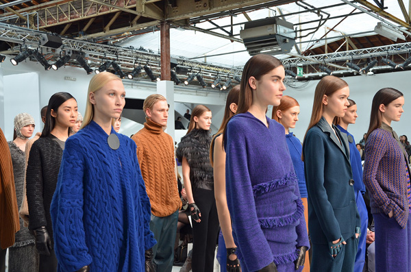 Allude Fashion Week Paris HW 2013