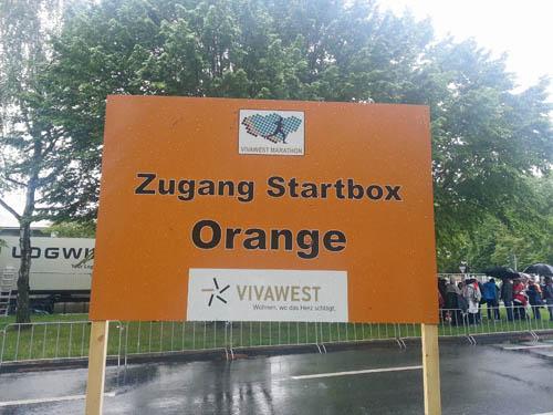Zugang Startbox Orange