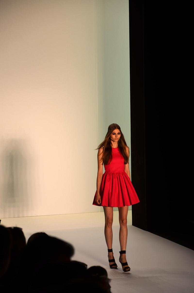 Dimitri rotes Kleid