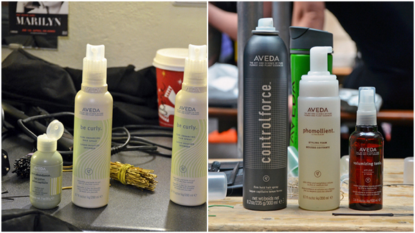Aveda be curly Produkte