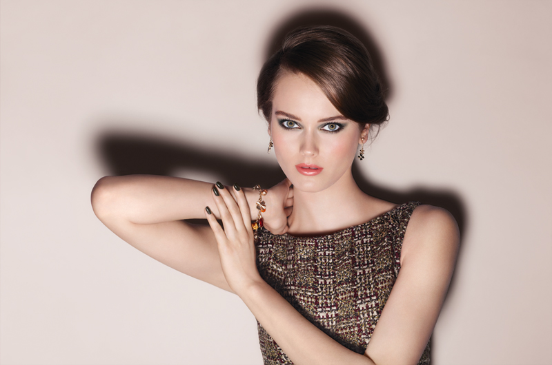 Chanel Collection Superstition Fall Winter Makeup Look 2013 Visual
