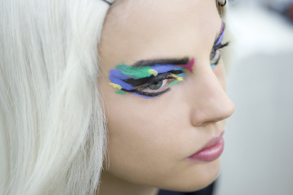 Chanel Backstage Spring Summer 2014 Make-up