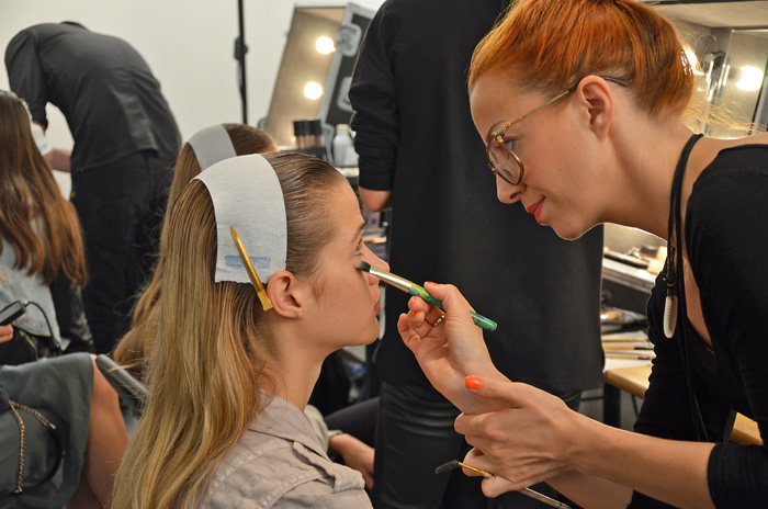 Make-up Allude Spring Summer Show 2014