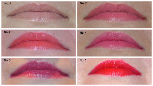 Sisley Phyto Lip Twist Swatches