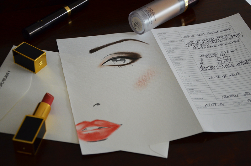 Face Chart Tom Ford Beauty