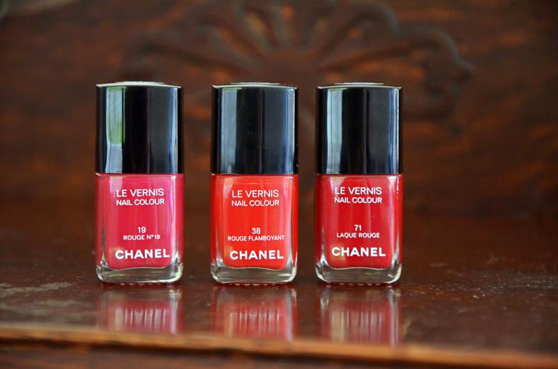 Les Rouges Culte de Chanel