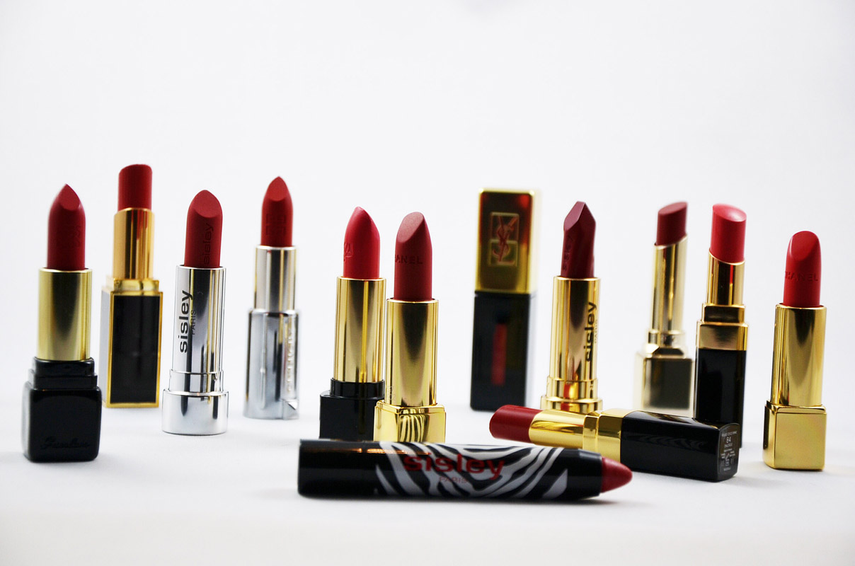 Beautytrend rote Lippen