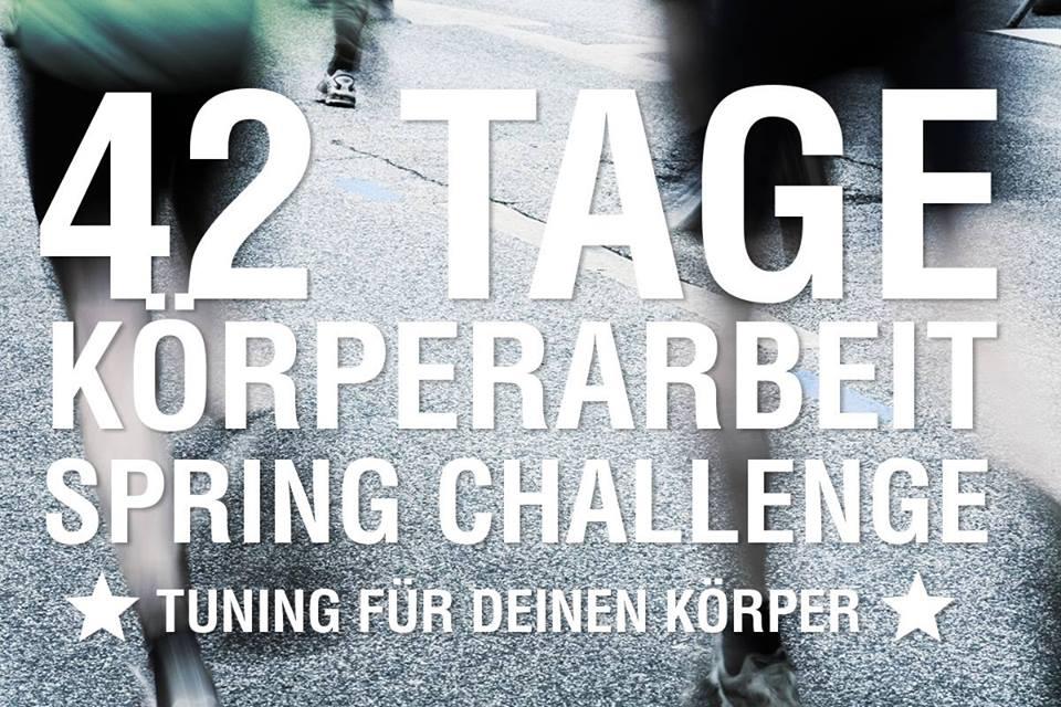 42 Tage Spring Challenge