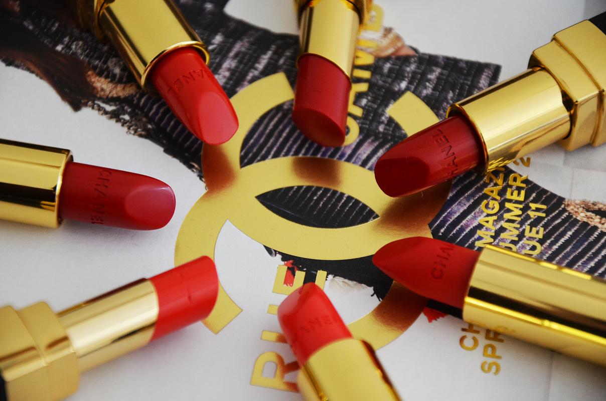 Chanel Red Lipstick