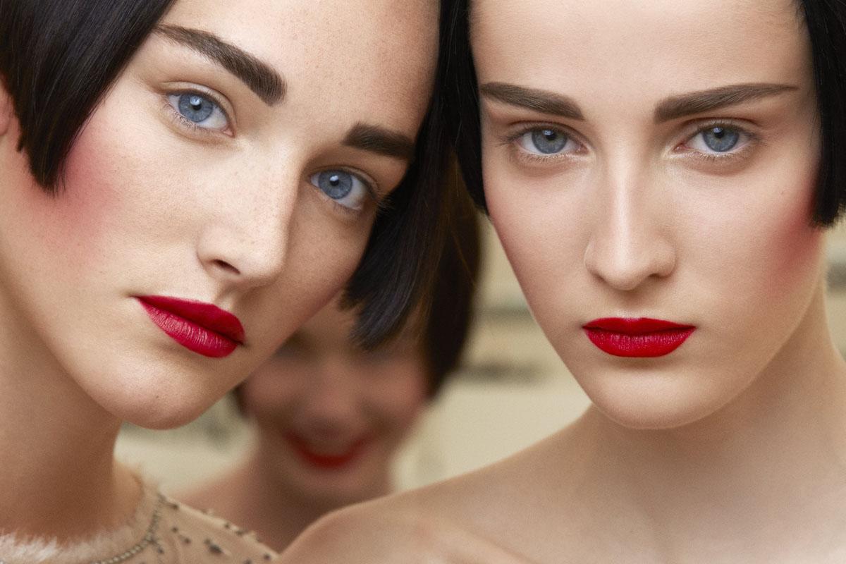 Rote Lippen mit Chanel