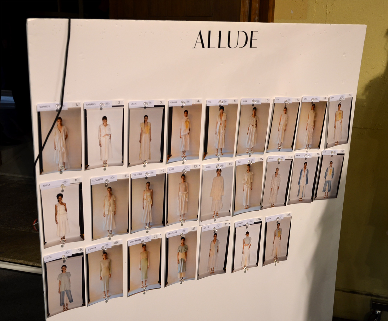 Allude Looks